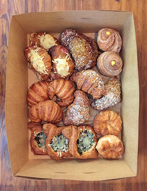 large box of lucettegrace assorted pastries