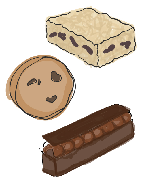 assorted lucettegrace lunch treats