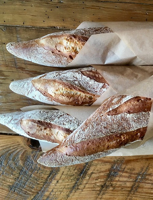 freshly made lucettegrace baguettes