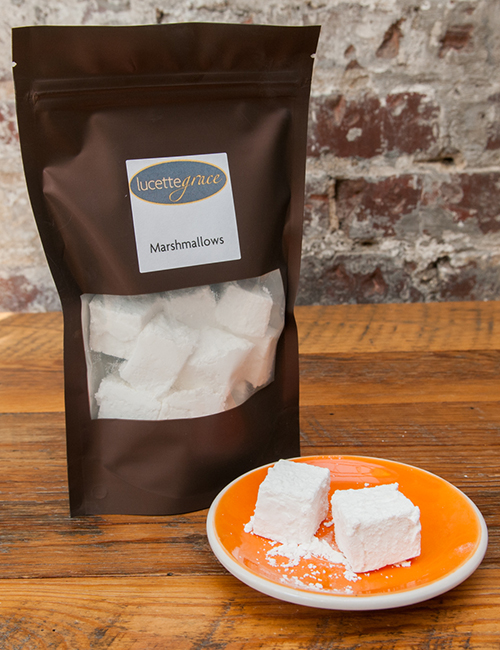 lucettegrace home made marshmallows in resealable container